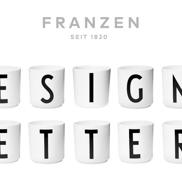 Design Letters Vintage ABC