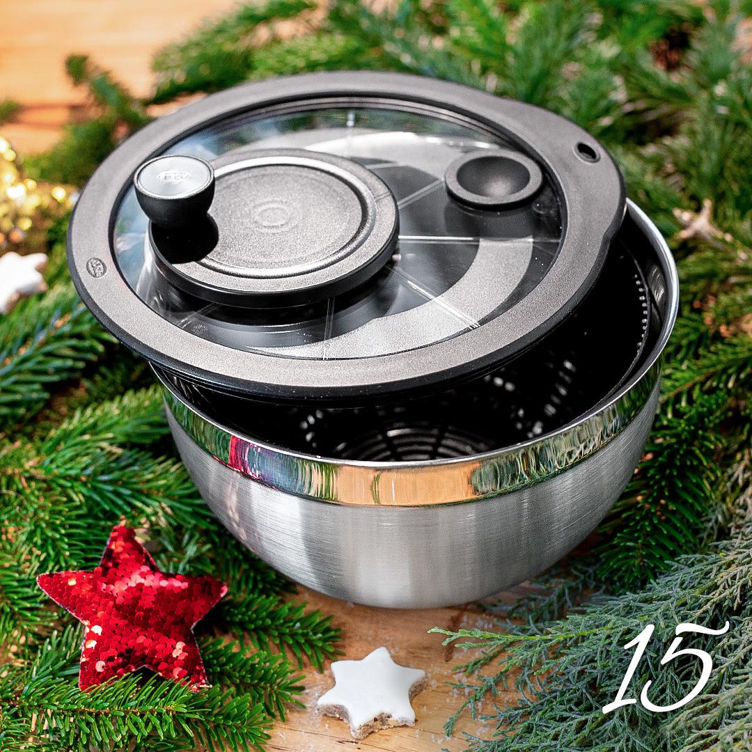 Türchen 15: Salatschleuder von Rösle zum Advents-Sonderpreis