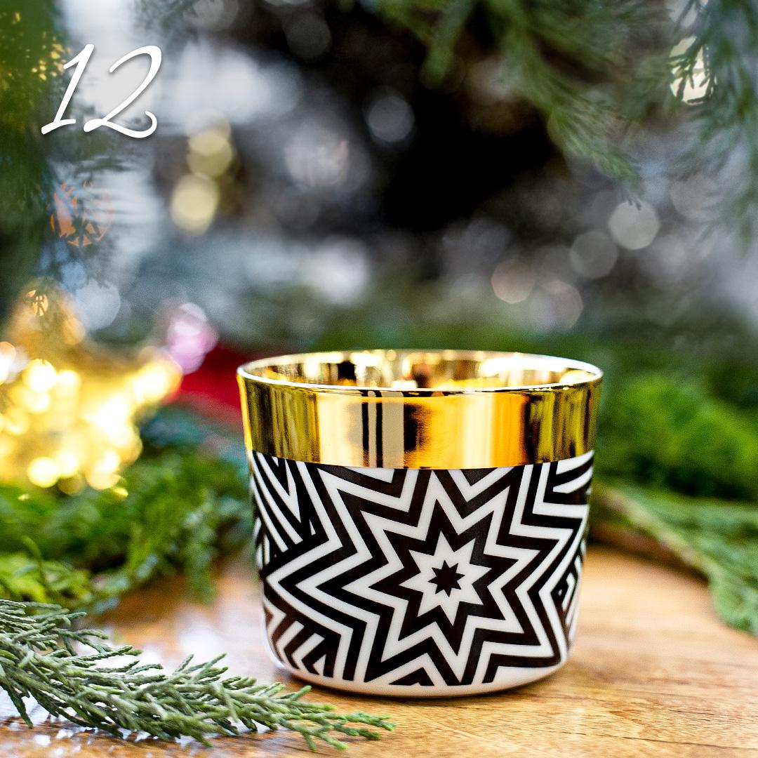 Türchen 12: Champagnerbecher Sip of Gold von SIEGER by Fürstenberg zum Advents-Sonderpreis