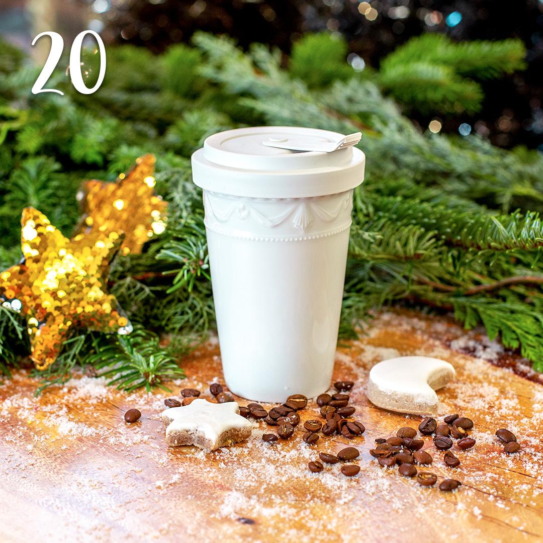 Türchen 20: Coffee To Go Becher von KPM zum Advents-Sonderpreis