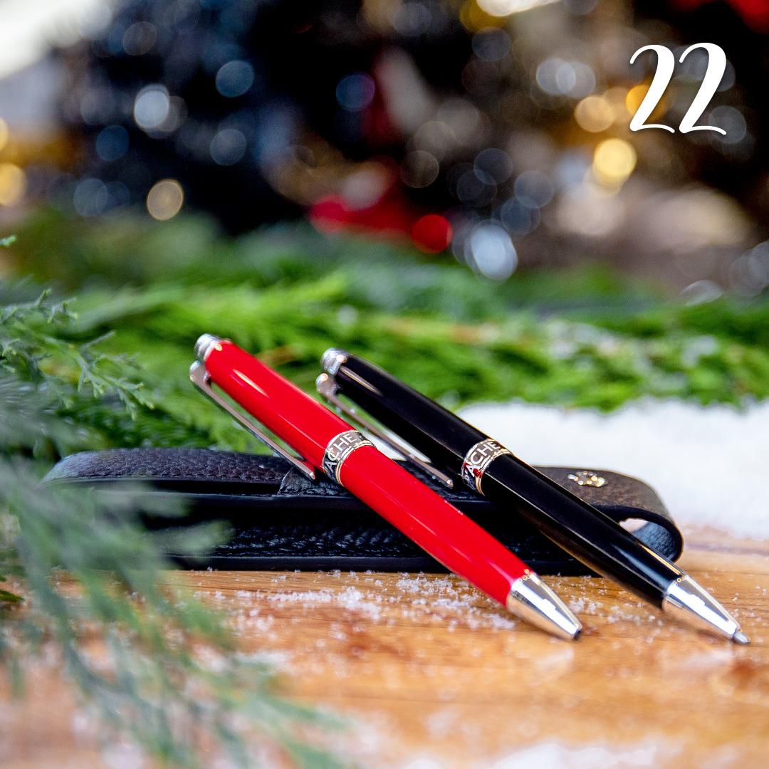 Türchen 22: Schreibgeräte von Caran d'Ache zum Advents-Sonderpreis