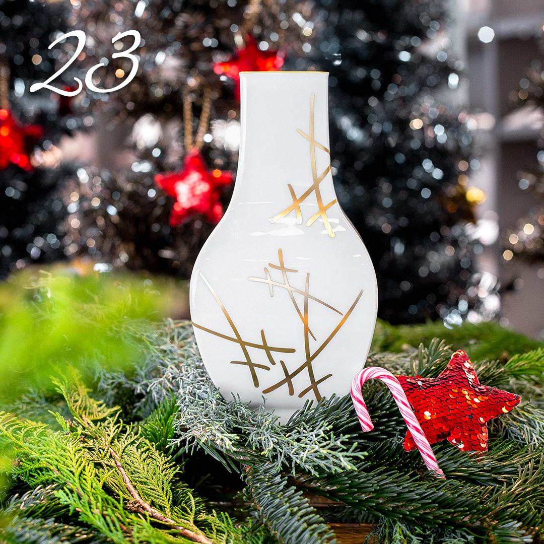 Türchen 23: Porzellanvase von Meissen zum Advents-Sonderpreis