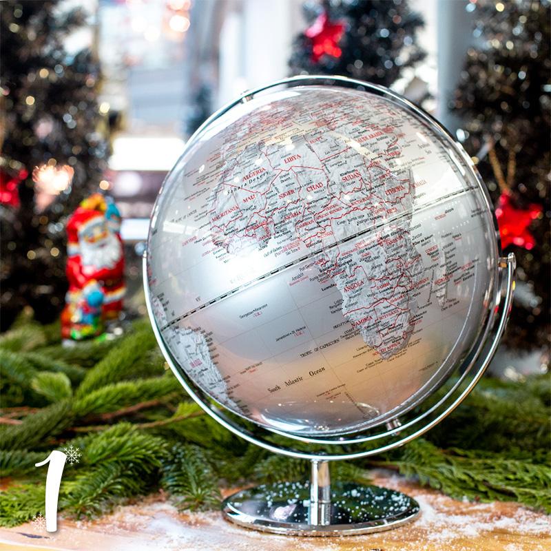 "Türchen 1: Globus ""Juri"" von SELECO zum Advents-Sonderpreis"