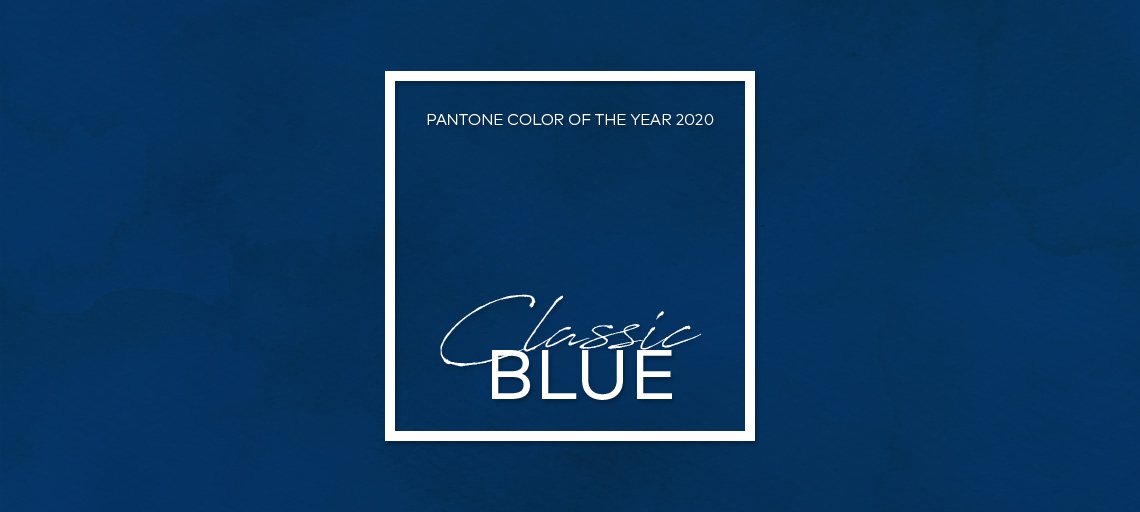Pantone Color Of The Year 2020 - Classic Blue