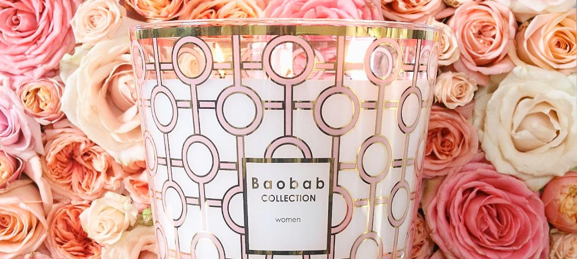 """Die Duftkerzen """"Women & Gentlemen"""" von Baobab Collection"""