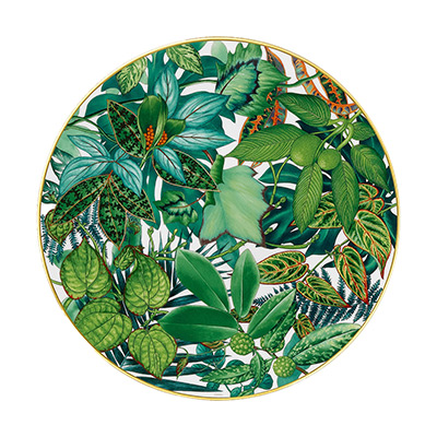 Neu: Hermes Porzellan Passifolia - Platzteller bei Franzen kaufen