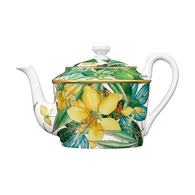 Neu: Hermes Porzellan Passifolia - Kanne bei Franzen kaufen