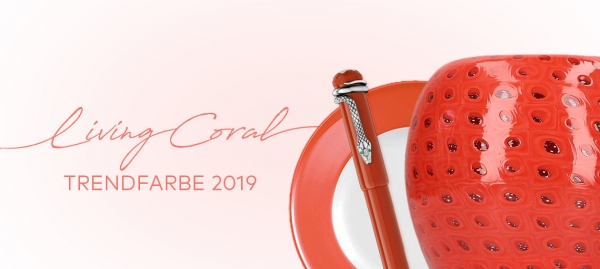 Trendfarbe 2019 - Living Coral
