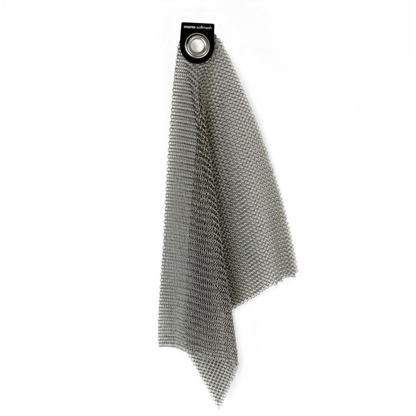 Perfekt zum Reinigen: Softmesh von mono aus Edelstahl
