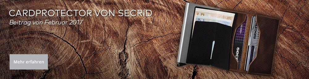 RFID Schutzhüllen - Cardprotector von Secrid