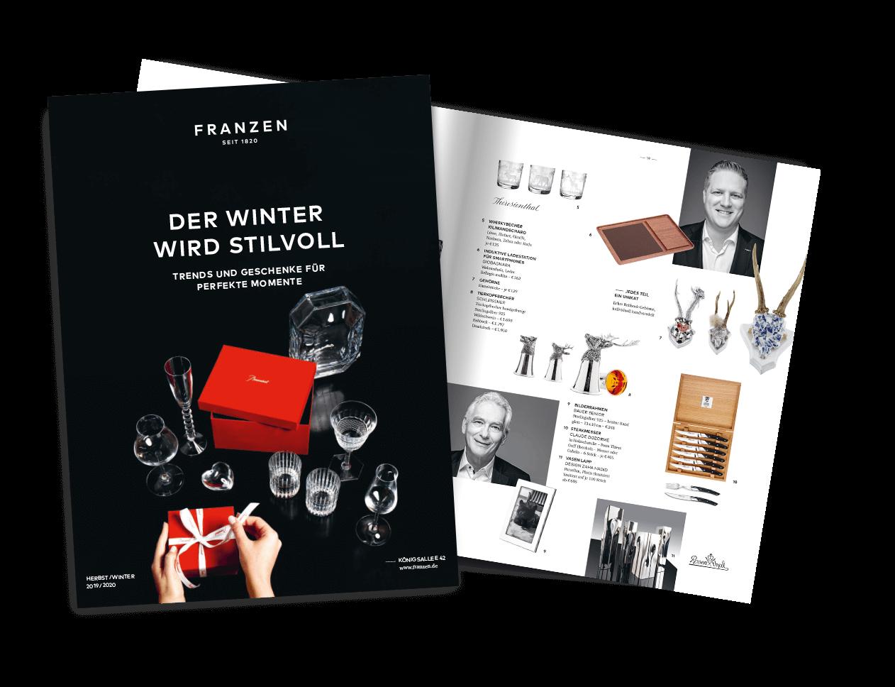 Das neue Franzen Magazin ist da! Lifestyle & Inspiration direkt von der KÖ42!