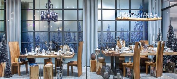 Weihnachtsschaufenster 2019: Christmas Chalet