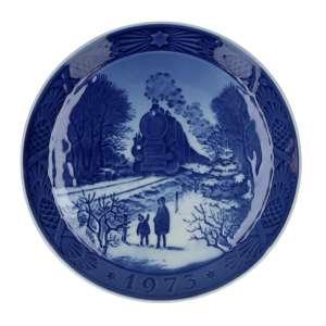 Weihnachtsteller 1973, 18 cm