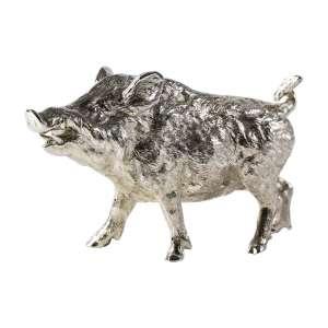 Wildschwein medium 14x9 cm Sterlingsilber