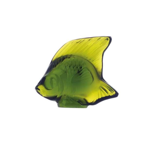 Fisch gelbgrün 'Poisson'