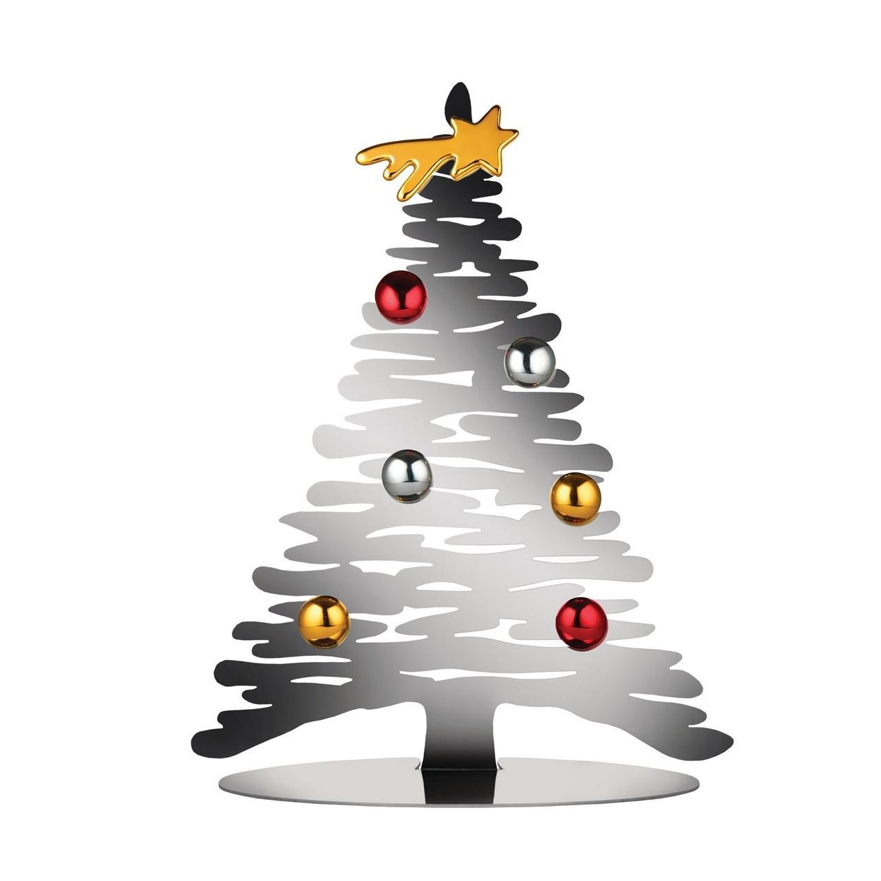 Alessi   Bark for Christmas   Tannenbaum klein 30 cm Edelstahl ...