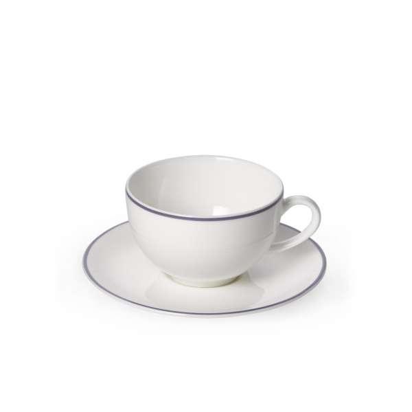 Kaffeetasse m. U. rund 0,25 l grau