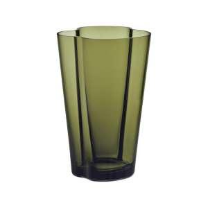 Vase 22 cm moosgrün