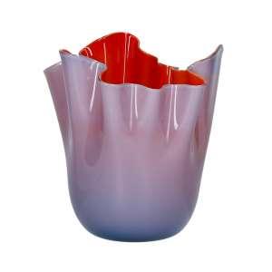 Vase 24 cm grape/rot