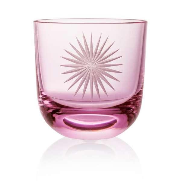 Glas Stella I 0,2 l pink