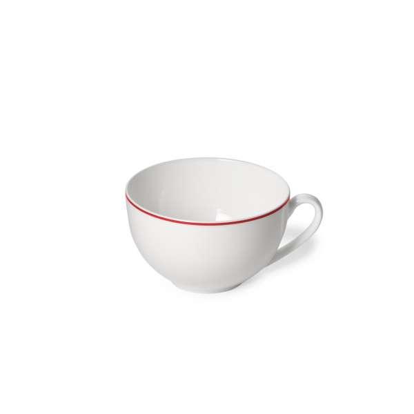 Kaffee-Obere rund 0,25 l rot