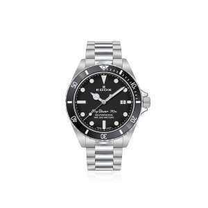 Armbanduhr Sky Diver Date Automatik schwarz