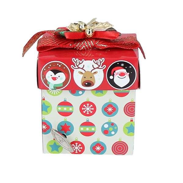 Weihnachtliche Geschenkbox