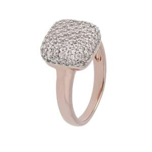 Ring Zirkonia Bronze plattiert