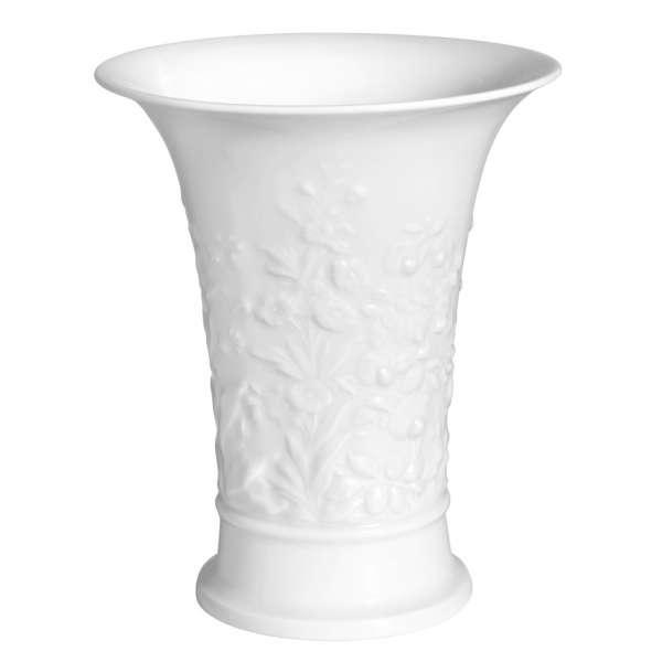 Vase Blütenrelief 17 cm