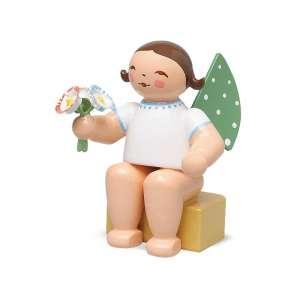 Engel klein, m. Strauß