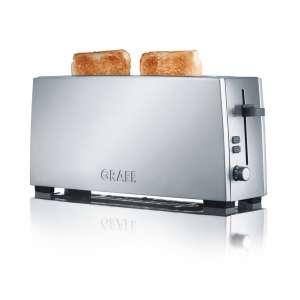 Toaster TO 90 Langschlitztoaster silber