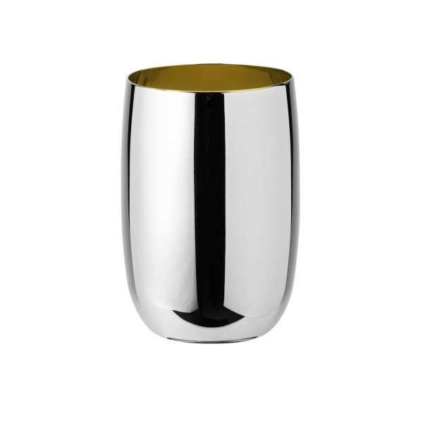 Wasserbecher 0,20 l Edelstahl - golden