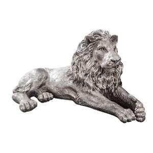 Löwe liegend (750 g Sterlingsilber)