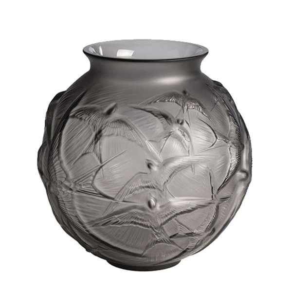 Vase 21,5 cm grau