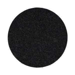 Untersetzer rund 9 cm graphit 08