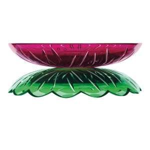 Schale 27,5 cm amethyst/grün