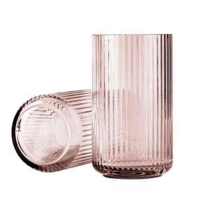 Vase 20 cm burgunder