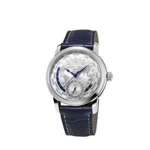 Armbanduhr Maxime Manufaktur Worldtimer Edelstahl Automatik