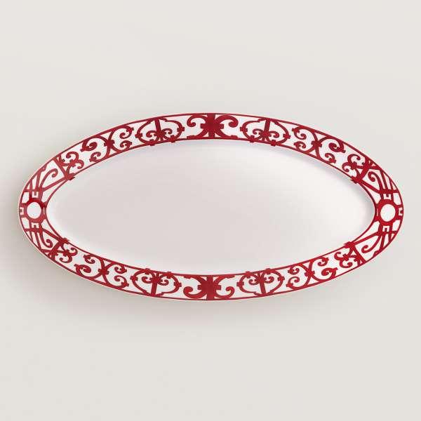 Platte oval 58,5 cm