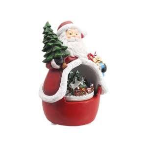 Spieluhr Santa mit Zugszene