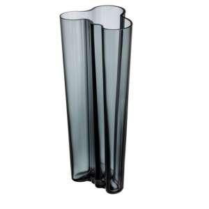 Vase 25,5 cm dunkelgrau