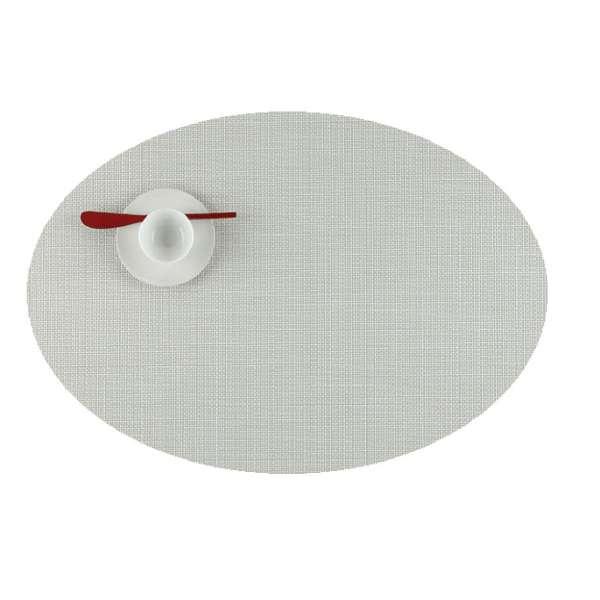 Tischset 36x49 cm oval Sandstone
