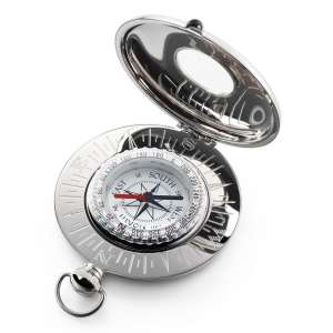 Grand Voyager Kompass Edelstahl