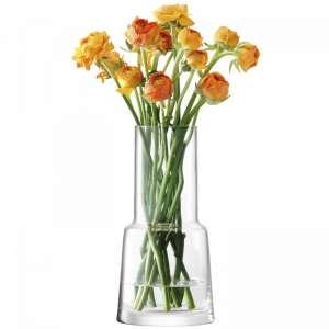 Vase 25 cm klar