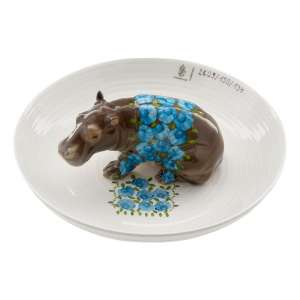 Schale mit Nilpferd 25 cm