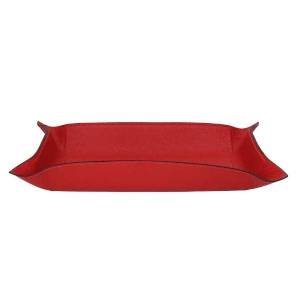 Schale rechteckig groß, Golf scarlet, Naht scarlet