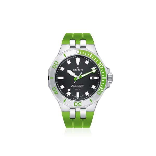 Armbanduhr Delfin grün Quarz