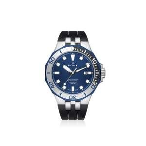 Armbanduhr Delfin schwarz/blau Quarz