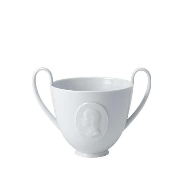 Hölderlin-Becher, ungl. Med. 13,5 cm
