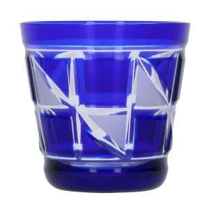 Becher Dreiecksfeld blau